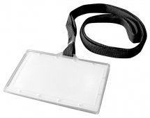O.BADGE Holder with strap 60x95